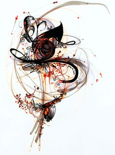 By artist Feanne, who has a way with flowing lines like no one I have ever seen.
