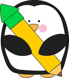 Free penguin clip art from mycutegraphics.com