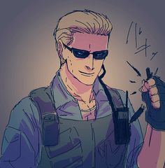 RE   Albert Wesker... Why did he go crazy in resi 5? Seemed out of character. He's supposed to be the cold calculating villain in the shadows. Not some raving crazy dude who goes full on retard at the end. Never should of killed him off, or put him in resi 5. I just have a grudge against that game >_>