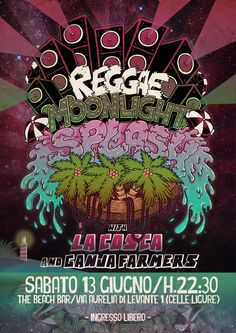 Reggae Moonlight Splash