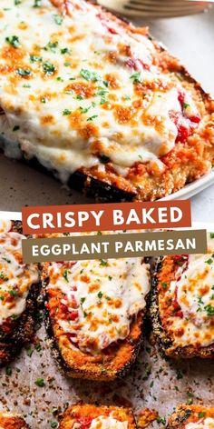 Healthy Recepies, Easy Healthy Recipes, Vegetable Recipes, Vegetarian Recipes, Cooking Recipes, Egg Plant Recipes Healthy, Healthy Italian Recipes, Pescatarian Recipes, Healthy Dishes