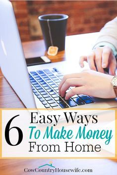 """It is possible to live off of one income, but no one has ever said """"I just have too much money!"""" You can make money from home and from your…"""