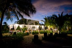 Belize Destination Wedding Reception