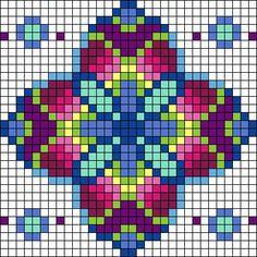 Alpha friendship bracelet pattern added by Denisecvo. Easy Perler Bead Patterns, Perler Bead Art, Bead Loom Patterns, Perler Beads, Bracelet Patterns, Graph Paper Drawings, Graph Paper Art, Cross Stitch Charts, Cross Stitch Designs