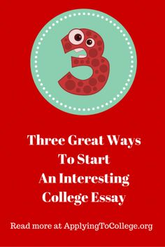 Get Into College Blog College Essay Tip Using Anecdotes | College ...