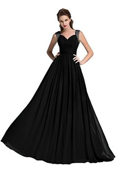 Sunvary 2015 Straps Chiffon Mother of the Bride Dresses Long Evening Prom Gowns for Bridesmaid US Size 22W- Black Sunvary http://www.amazon.ca/dp/B00G3UNKHQ/ref=cm_sw_r_pi_dp_4n9wwb13YJAHN