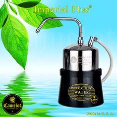 Ένα από τα καλύτερα συστήματα καθαρισμού του νερού διεθνώς είναι το Imperial Plus της Camelot το οποίο κατασκευάζεται στην Αμερική. Το σύστημα Imperial Plus αφαιρεί αποτελεσματικά όλους τους επικίνδυνους χημικούς ρύπους και όλους τους επικίνδυνους παθογόνους μικροοργανισμούς όπως π.χ. βενζίνη, χλωροφόρμιο, φυτοφάρμακα, ίνες αμιάντου, μόλυβδο, υπολειμματικό χλώριο, κακή γεύση, μυρωδιά, θολότητα, βακτηρίδια κ.λ.π. French Press, Coffee Maker, Aqua, Kitchen Appliances, Filter, Coffee Maker Machine, Diy Kitchen Appliances, Coffee Percolator, Water