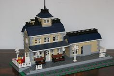 lego train station - Google Search