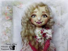 Купить Интерьерная кукла Марта. - девочка, малышка, интерьерная кукла, авторская кукла, текстильная кукла