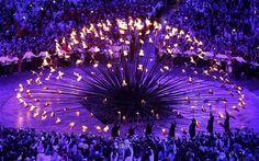 London 2012 Olympic Cauldron design by Thomas Heatherwick studio via www.telegraph.co.uk