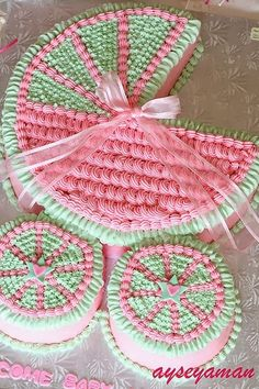 Modelos de bolos decorados para chá de bebê - Dicas pra Mamãe