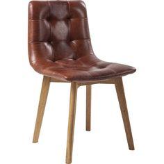 Sedia in pelle Moritz - KARE Design