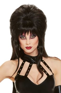 Check out the deal on Elvira Costume Wig - FREE SHIPPING at PureCostumes.com