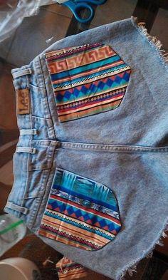 pattern pockets