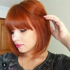 Do you love this color ?. She just went long to bob .  Keep going or stop?? @cibelyalvess by nothingbutpixies