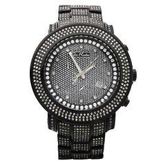 Joe Rodeo Men's 'Junior' Pave Diamond Watch