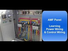 In this tutorial video, we have tried to explain Auto Mains Failure Panel (AMF Panel) wiring. We have covered both Power wiring and Control wiring scheme. Amazon Gadgets, Power Wire, Electric Motor