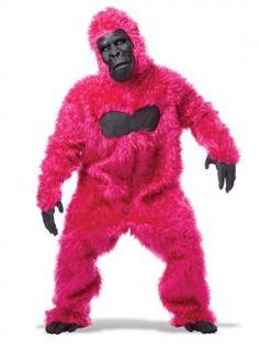 Gorilla Adult Costume (Pink) | California Costumes www.californiacostumes.com