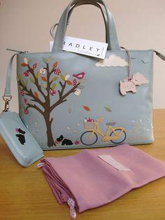 Radley Sweet Pickings Signature Bag Worldwide Postage Very RARE   eBay $964.38