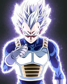 Dragon Ball Super Manga, Episode and Spoilers Dragon Ball Z, Goku E Vegeta, Baby Vegeta, Super Vegeta, Dragon Super, Goku All Forms, Dbz Characters, Drawings, Kakashi Sharingan