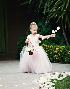 Cute Flower Girls!! Check weddinspire.com for more #adorable flower girls images