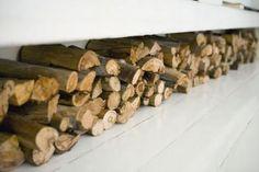 "firewood storage as ""bench"""
