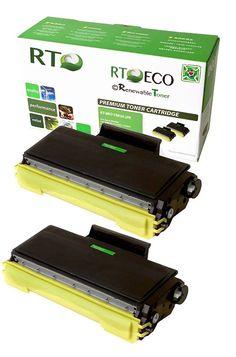 Brother TN650 | TN-650 (2-Pack, 8K Yield) Toner Cartridge