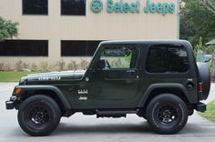 2005 Jeep Green WILLYS Editon!!! Rare and Super Clean with Only 57k Miles! More Details Follow---> http://www.selectjeeps.com/inventory/view/9450097/2005-Jeep-Wrangler-2dr-X-League-City-TX