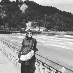 #Zarautz #beach #basque #country #sobeautiful ! on a #roadtrip  trying to learn #Euskara ! #northern #spain #travel #instatravel #instatraveling #ig_travel #onceinalifetime