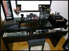 ikea malm makeup table