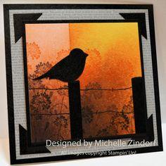 Morning Sun – Stampin' Up! Card Tutorial #585  