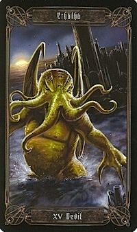 "revibrahim: "" Cthulu is The Devil on the Necronomicon Card. Rad! :) """