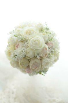 ラウンドブーケ パレスホテル様へ メールのお返事についての画像:一会 ウエディングの花