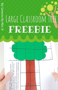 FREE Large Classroom Tree (in color) by Lessons By Mrs B