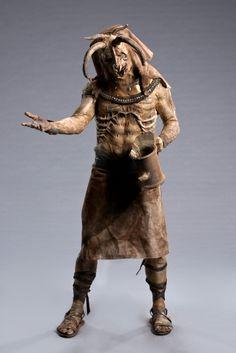 Kris' Egyptian god Khnum, the god of life and creation, from 'Face Off' Episode 409 - 'Mummy Mayhem' Photo Credit: Brett-Patrick Jenkins