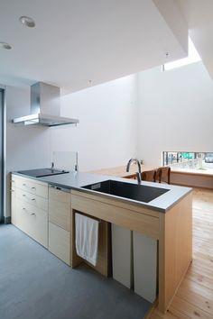 CASE619 Hoccori Home Decor Kitchen, Home Kitchens, Kitchen Dining, Diy Home Decor, Room Decor, Kitchen Ideas, Japanese Kitchen, Japanese House, Industrial Restaurant