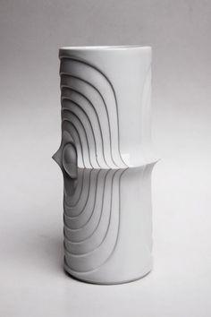 Vintage German Op Art Vase - KPM