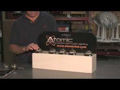 Atomic LED Factory Roof LED Warning Lights