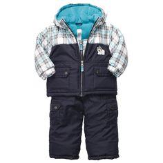 Parka Snowsuit | Baby Boy Jackets & Outerwear