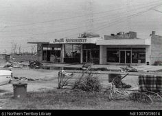 Jingili Supermarket after Cyclone Tracy Australian Continent, Largest Countries, Small Island, Historical Pictures, Darwin, Tasmania, Storms, Back In The Day, Continents