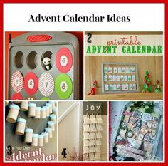diy advent calendar ideas #HandmadeChristmas