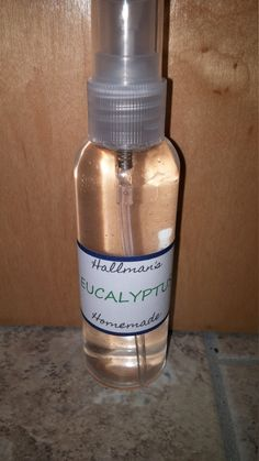Check out this item in my Etsy shop https://www.etsy.com/listing/269079115/2oz-eucalyptus-body-spray