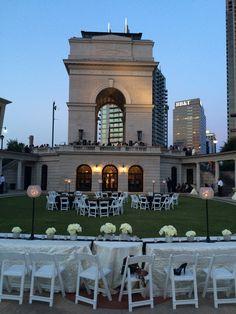 Weekend wedding at the Millennium Gate!