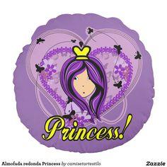Almofada redonda Princess