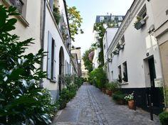 La très sereine rue de la Cité-du-Midi, près de Pigalle. Crédit : Guillaume Nédélec