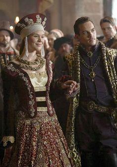 The Tudors on HBO- so flipping beautiful