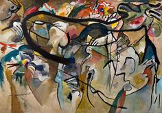 Vasily Kandinsky - Composition #5, Inventing Abstraction 1910 - 1925, MoMA