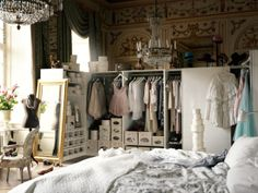 dreamy dressing space