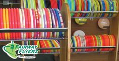 Minnesota Disc Sports Hall of Fame at the Fairway Flyerz disc golf store, Little Canada, MN.