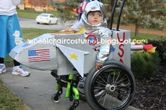 Nice blog about making great wheelchair costumes!